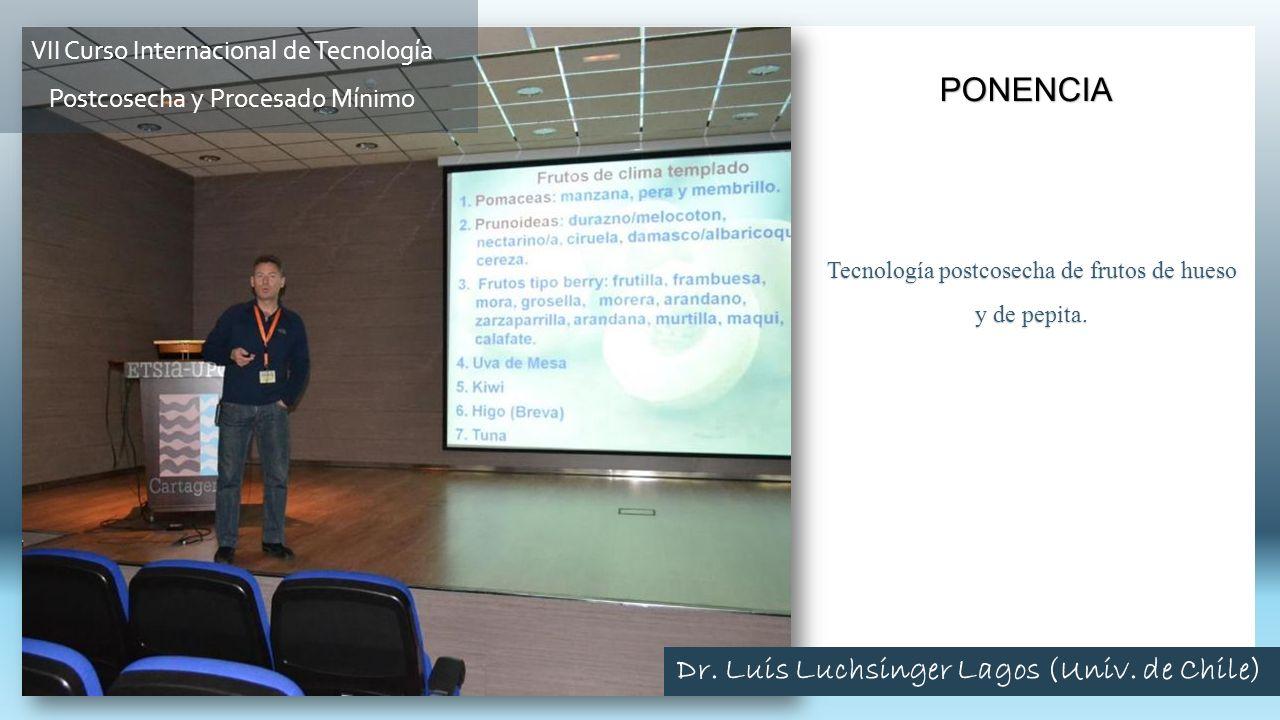 Dr. Luis Luchsinger Lagos (Univ. de Chile)