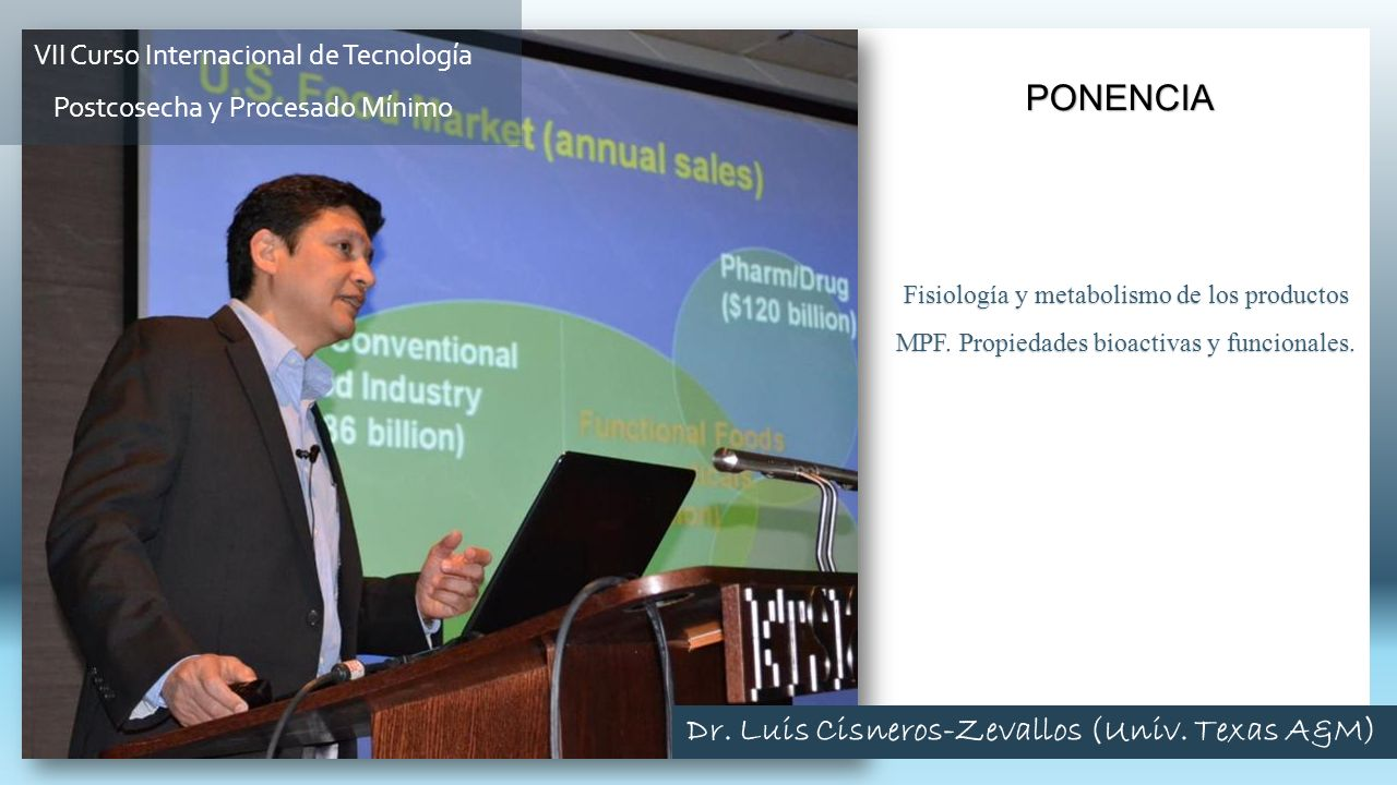Dr. Luis Cisneros-Zevallos (Univ. Texas A&M)