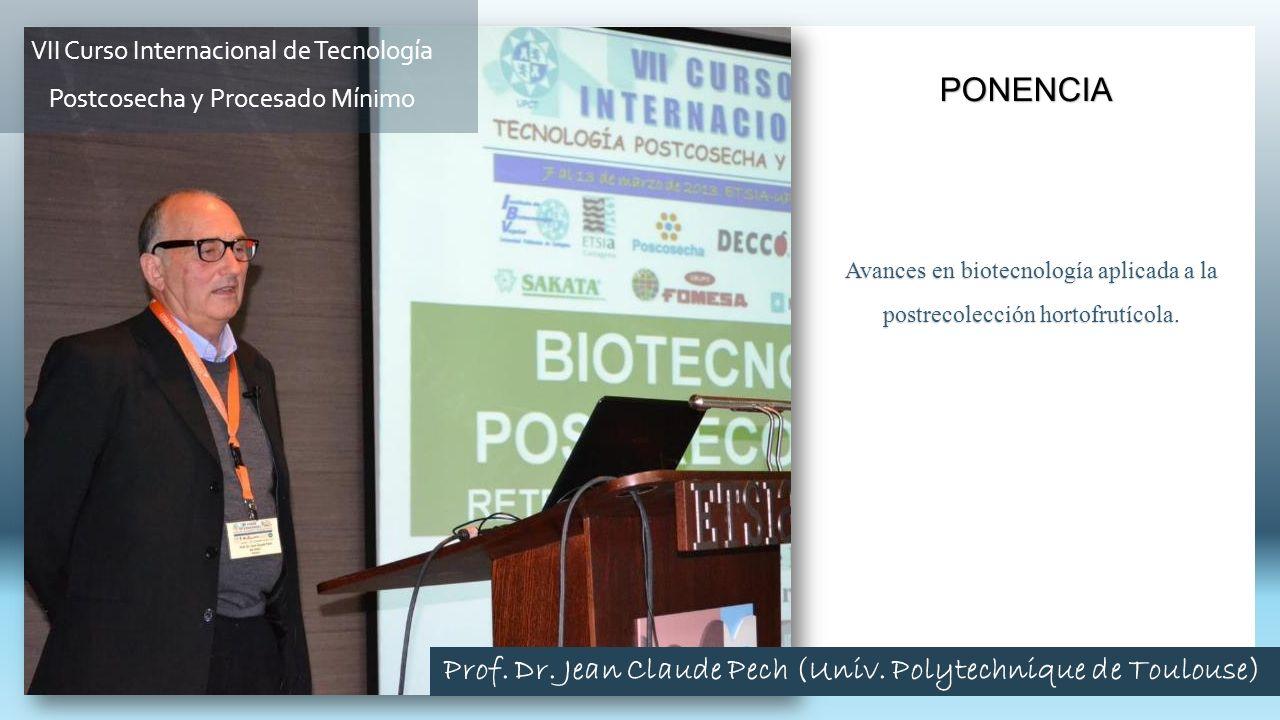 Prof. Dr. Jean Claude Pech (Univ. Polytechnique de Toulouse)