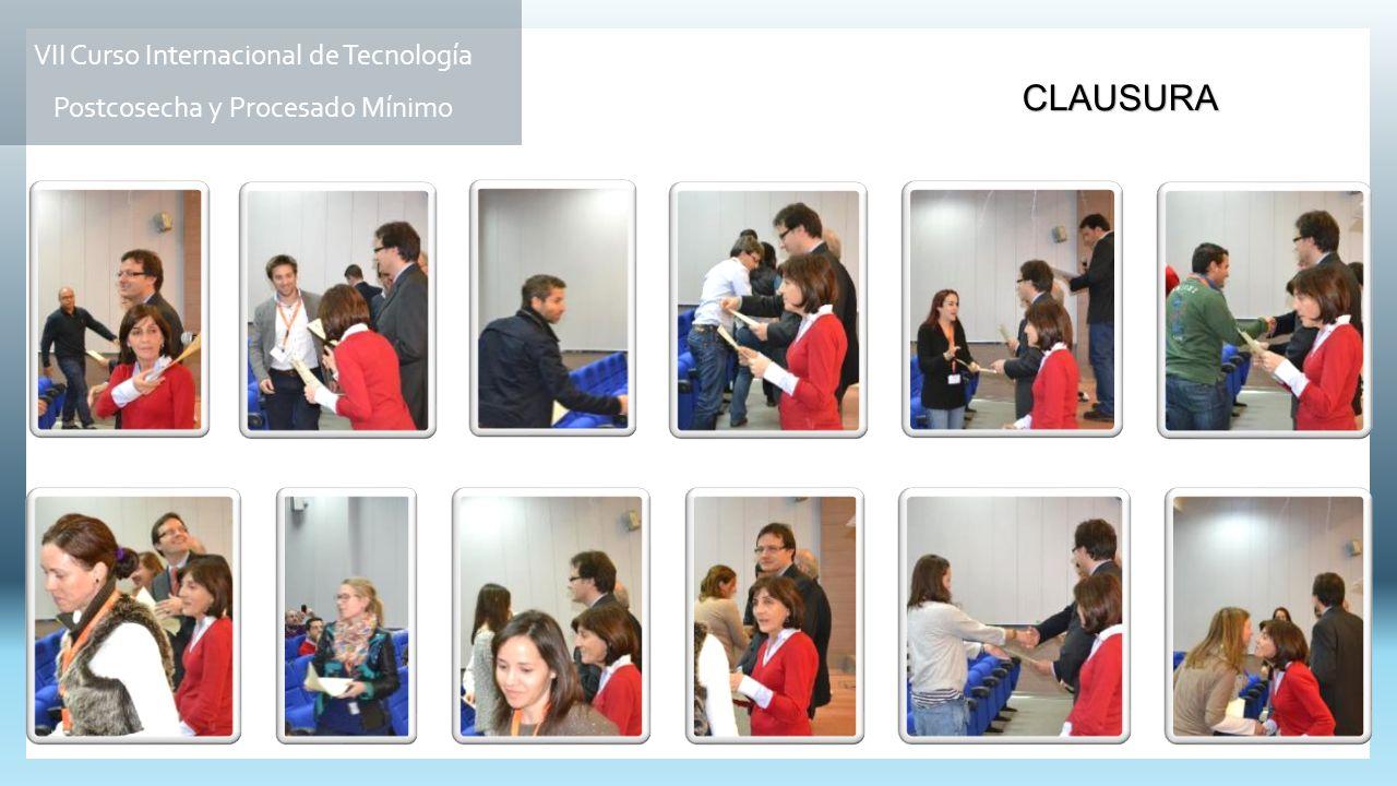 VII Curso Internacional de Tecnología Postcosecha y Procesado Mínimo