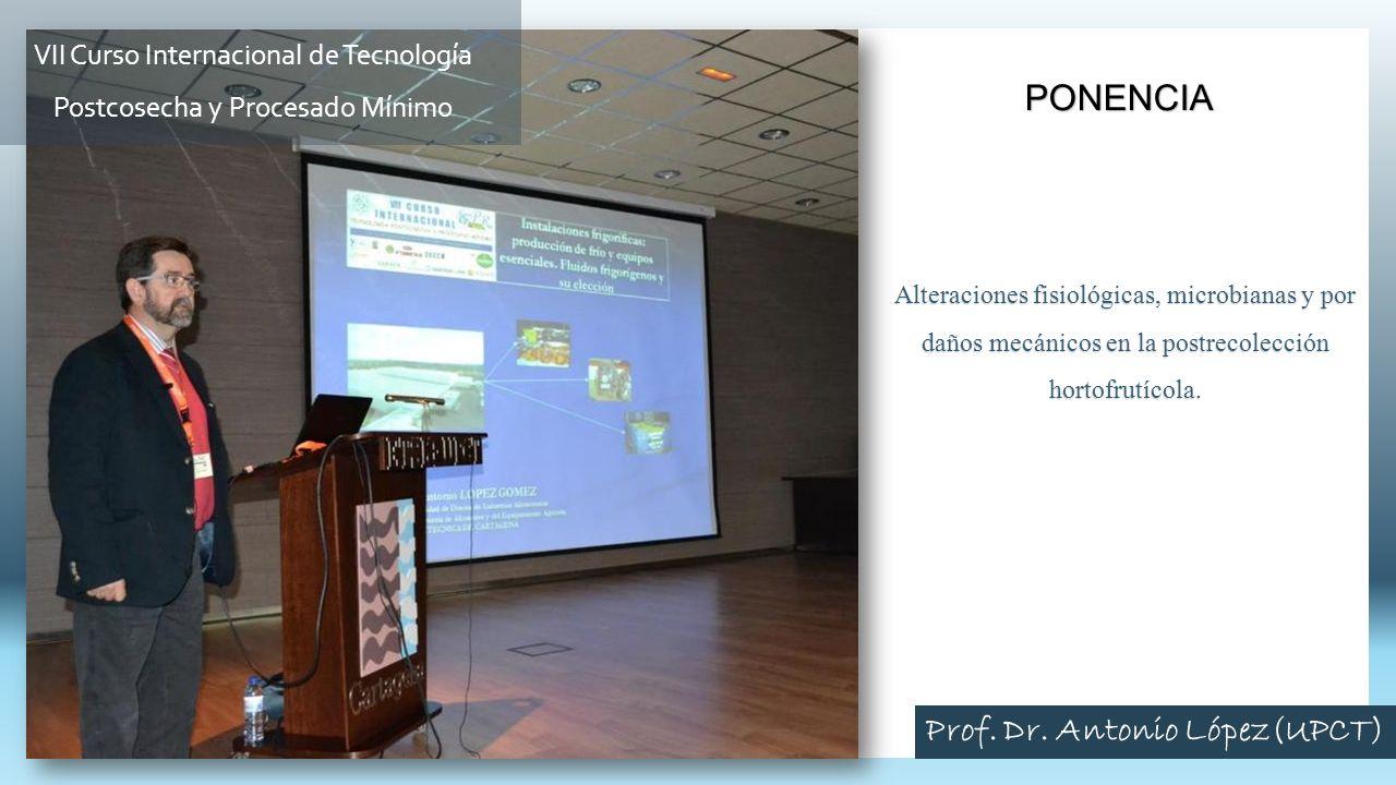 Prof. Dr. Antonio López(UPCT)