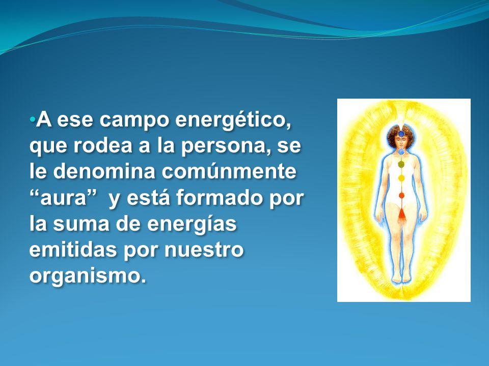 A ese campo energético, que rodea a la persona, se le denomina comúnmente aura y está formado por la suma de energías emitidas por nuestro organismo.