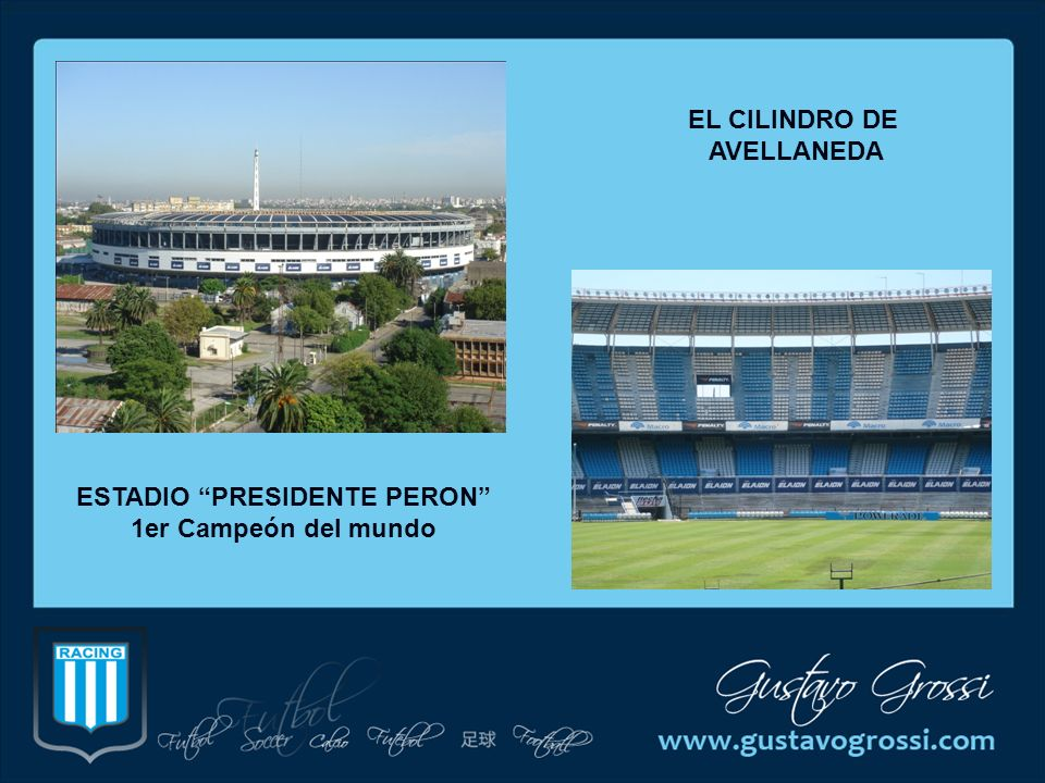 ESTADIO PRESIDENTE PERON