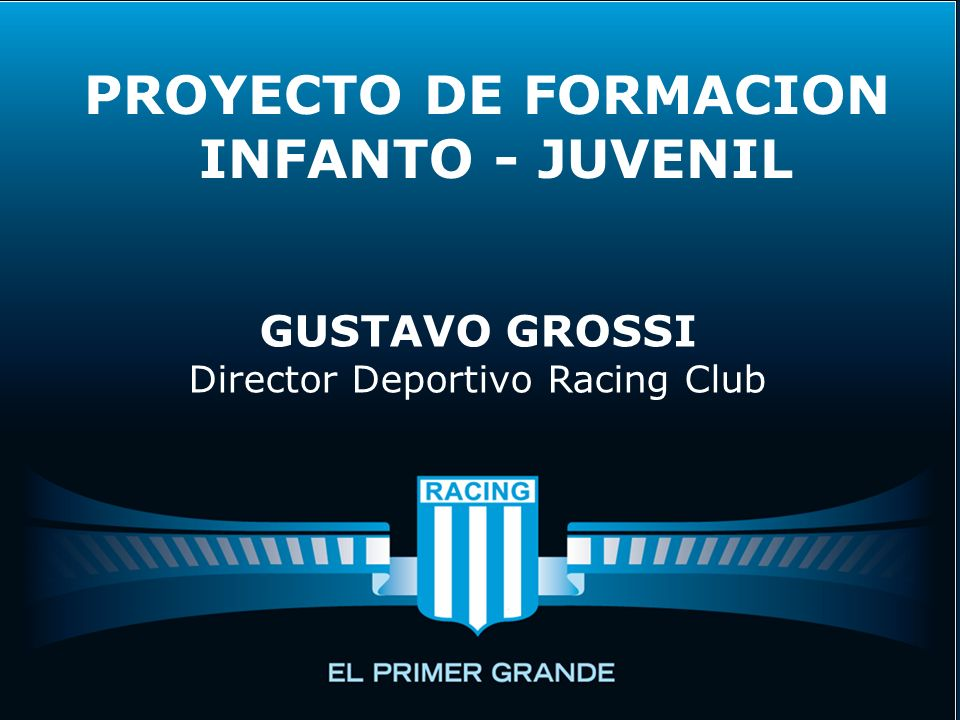 Director Deportivo Racing Club