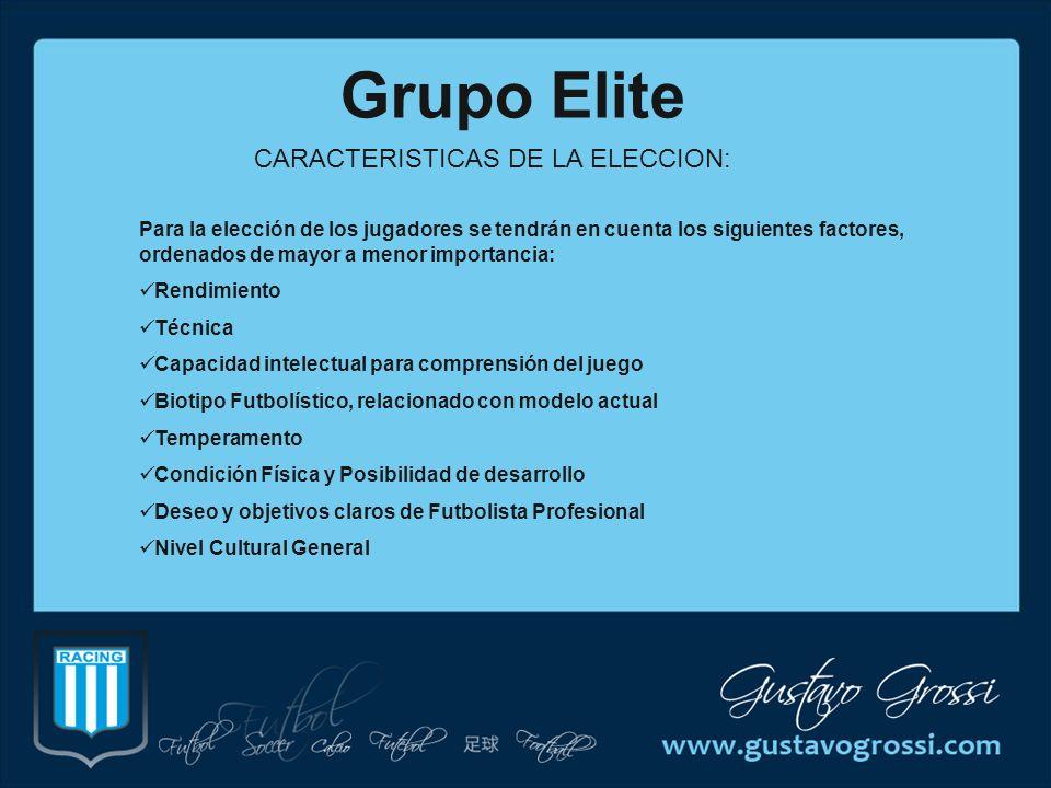 CARACTERISTICAS DE LA ELECCION: