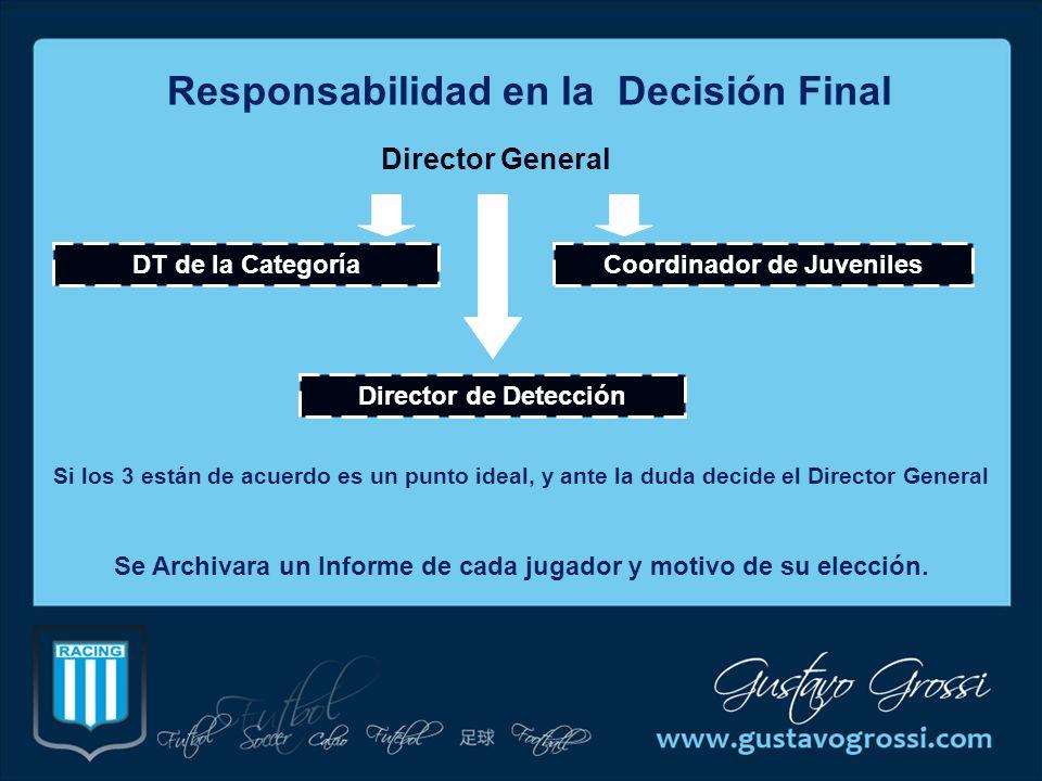 Responsabilidad en la Decisión Final