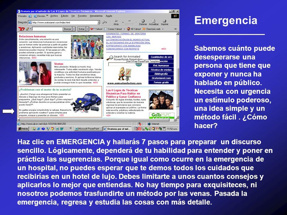 Emergencia __________________