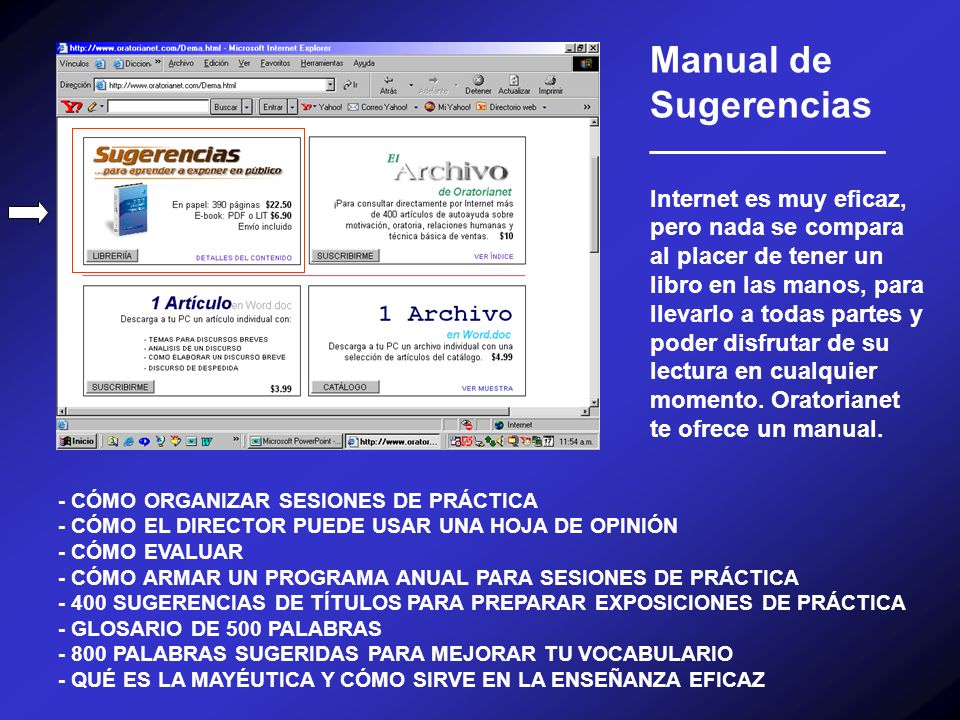 Manual de Sugerencias __________________