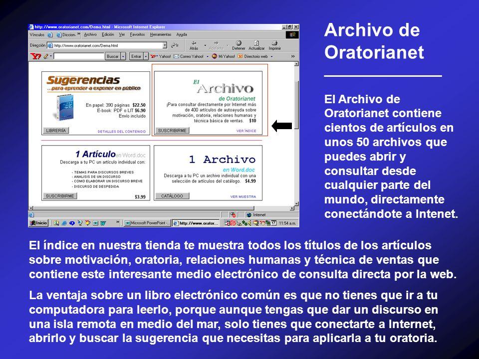 Archivo de Oratorianet