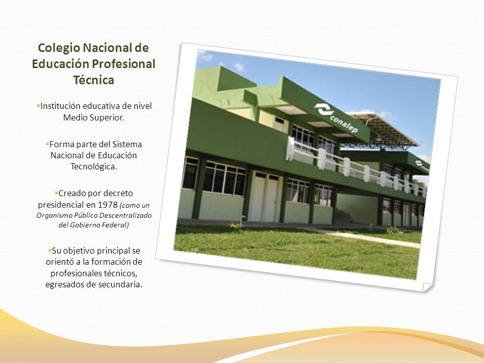 Colegio Nacional de Educación Profesional Técnica