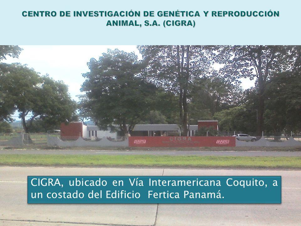 CENTRO DE INVESTIGACIÓN DE GENÉTICA Y REPRODUCCIÓN ANIMAL, S. A