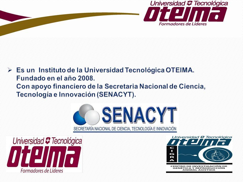 Es un Instituto de la Universidad Tecnológica OTEIMA
