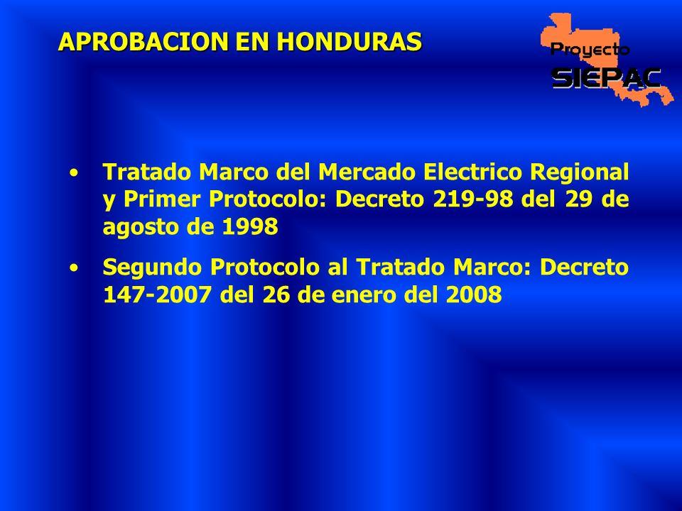 APROBACION EN HONDURAS
