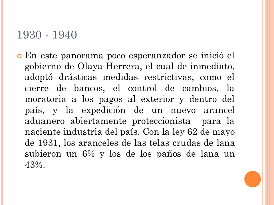 1930 - 1940