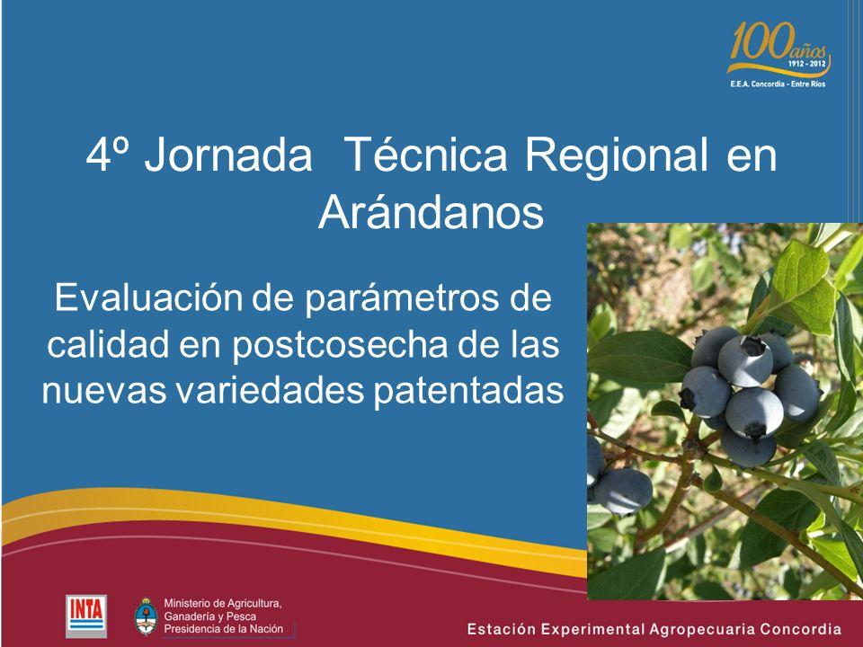 4º Jornada Técnica Regional en Arándanos