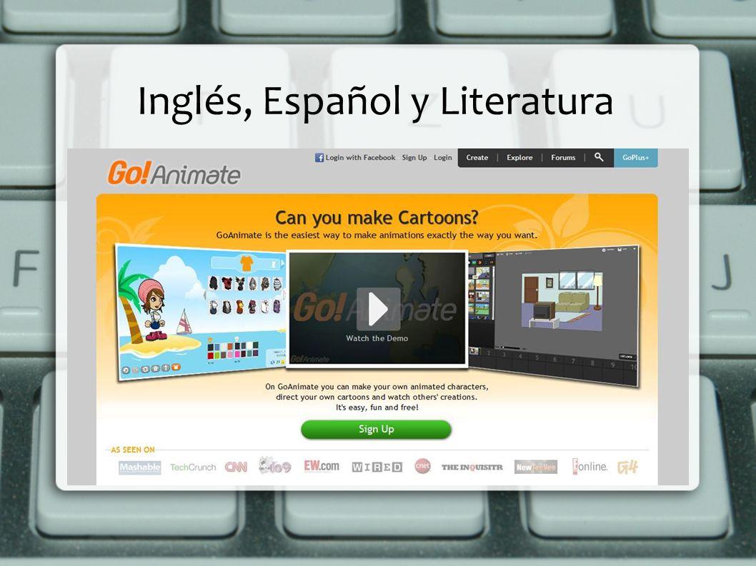 Inglés, Español y Literatura