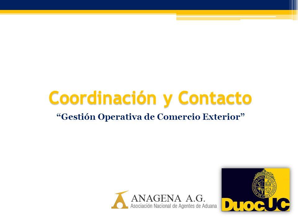 Coordinación y Contacto