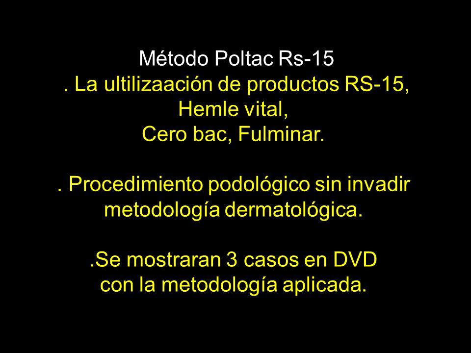 . La ultilizaación de productos RS-15, Hemle vital,