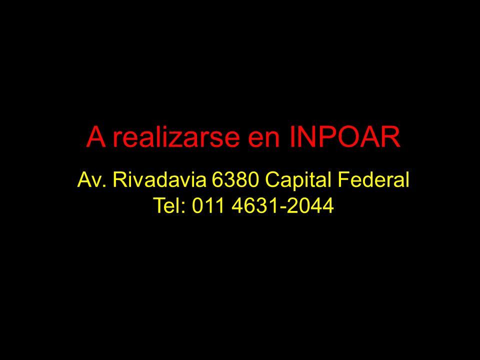 Av. Rivadavia 6380 Capital Federal
