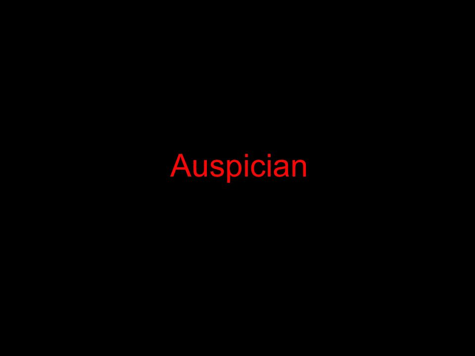 Auspician