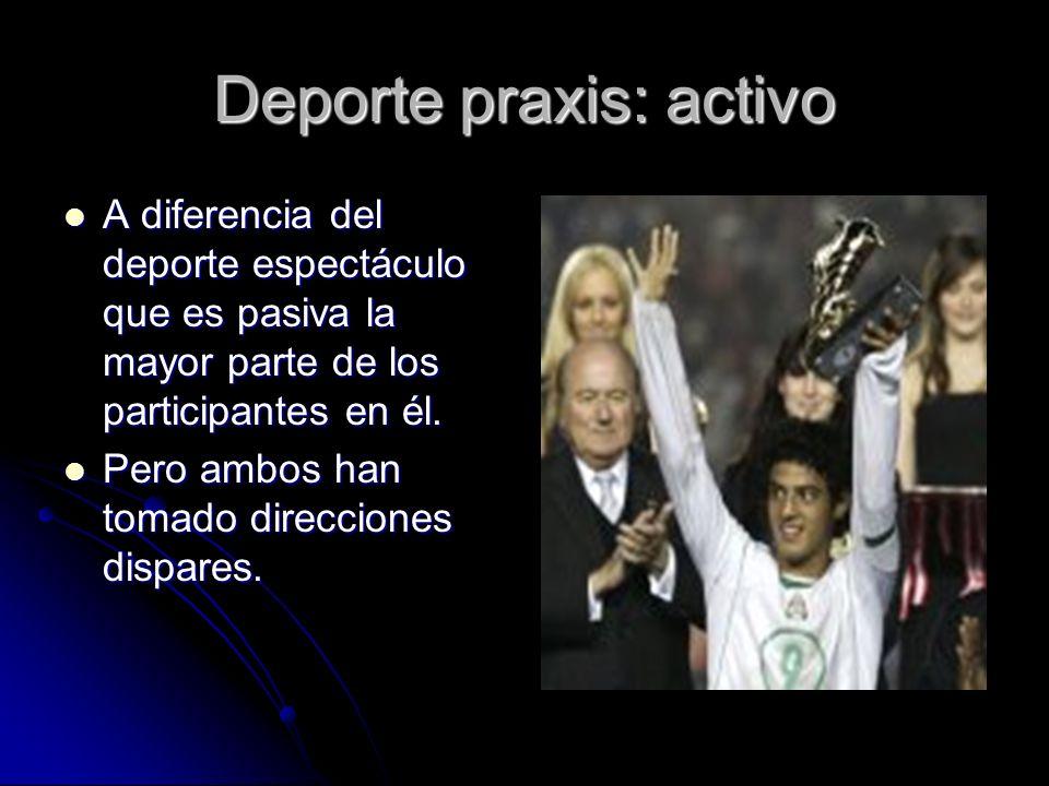 Deporte praxis: activo