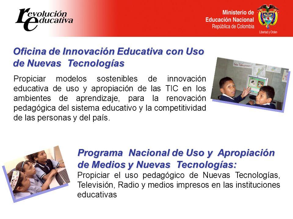 Oficina de Innovación Educativa con Uso de Nuevas Tecnologías