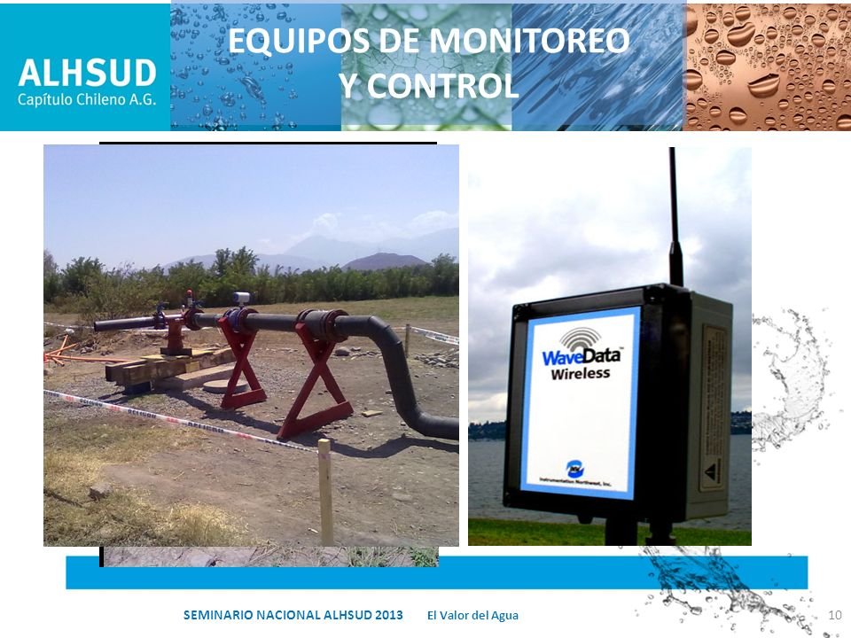 EQUIPOS DE MONITOREO Y CONTROL