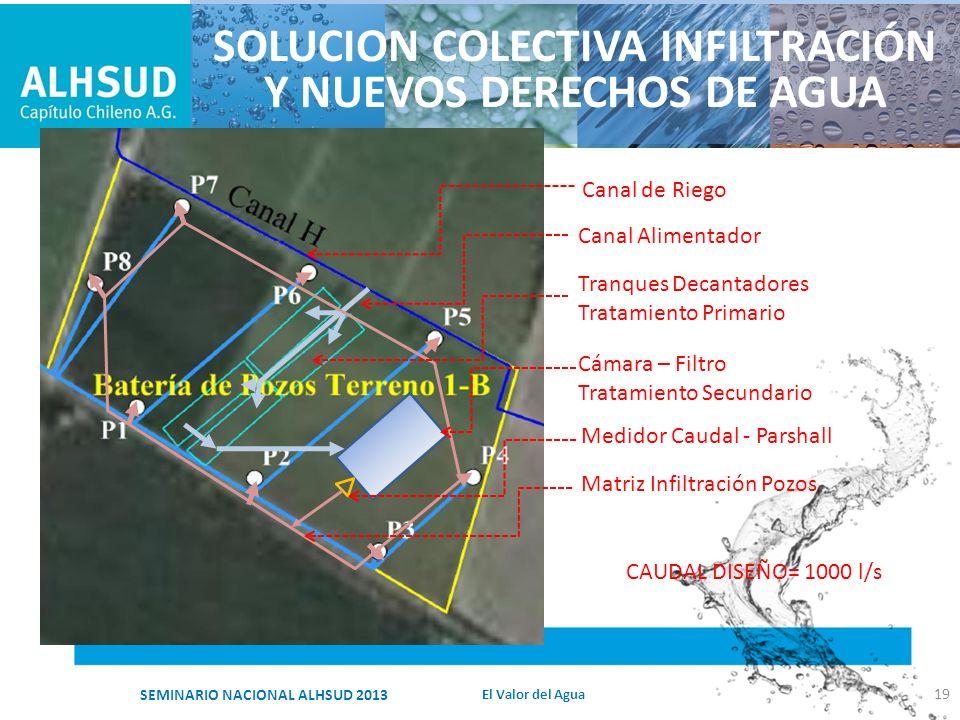 SOLUCION COLECTIVA INFILTRACIÓN Y NUEVOS DERECHOS DE AGUA