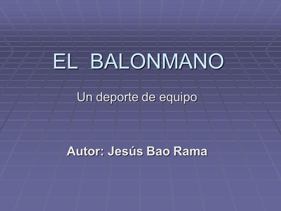 Un deporte de equipo Autor: Jesús Bao Rama