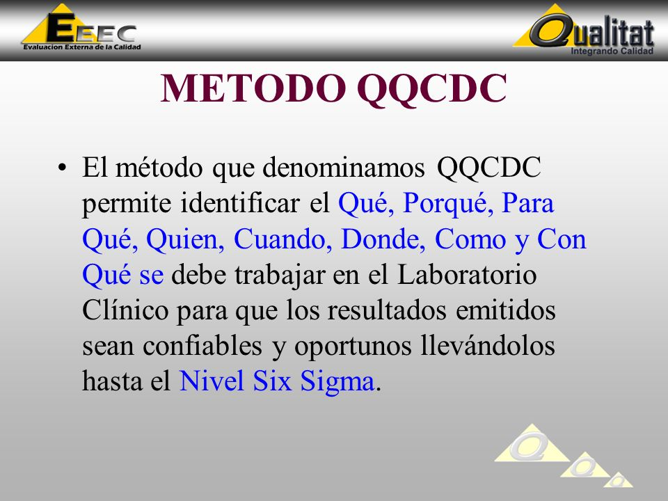 METODO QQCDC