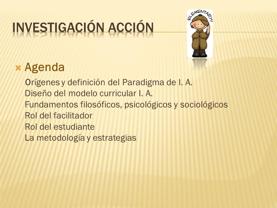 Investigación acción Agenda