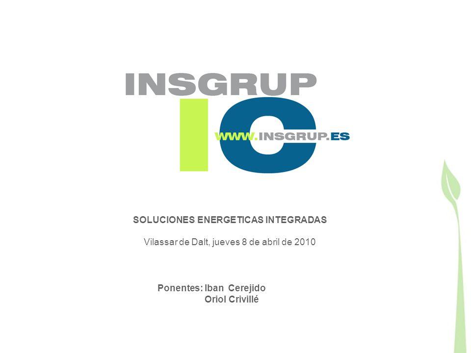 SOLUCIONES ENERGETICAS INTEGRADAS