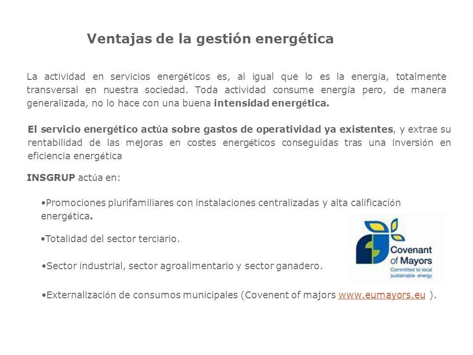 Ventajas de la gestión energética