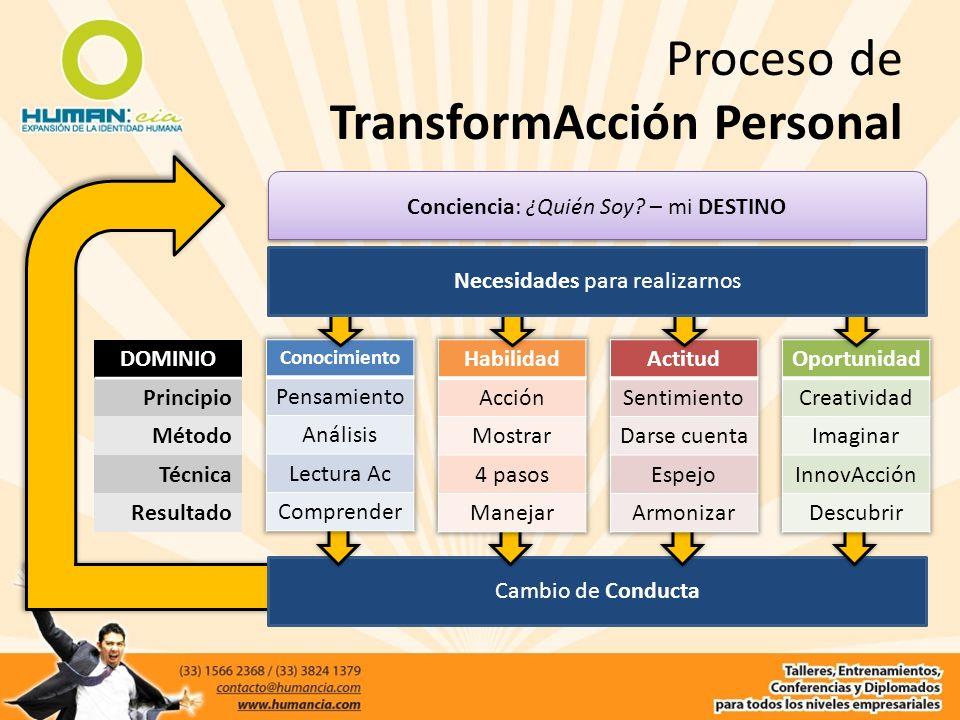 Proceso de TransformAcción Personal