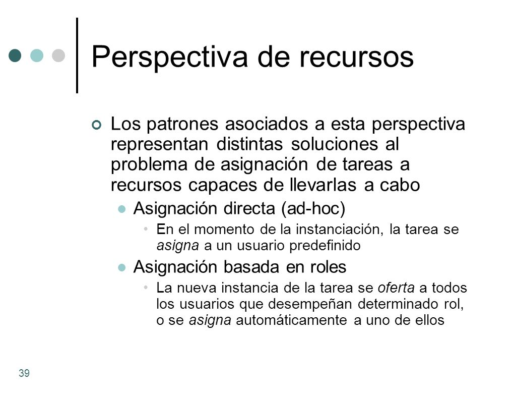 Perspectiva de recursos