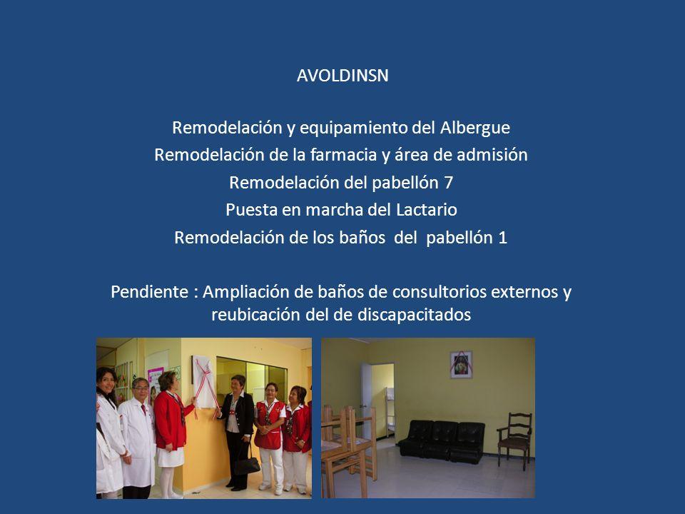 Remodelación y equipamiento del Albergue