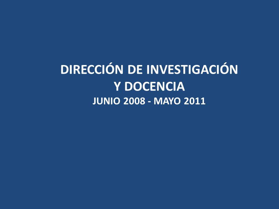 DIRECCIÓN DE INVESTIGACIÓN Y DOCENCIA
