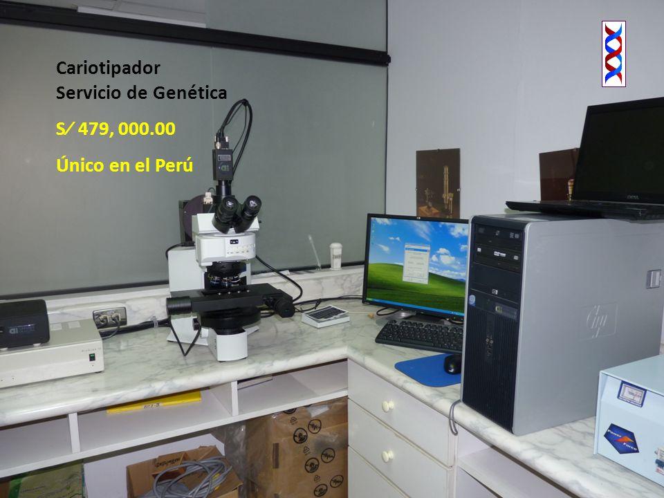 Cariotipador Servicio de Genética