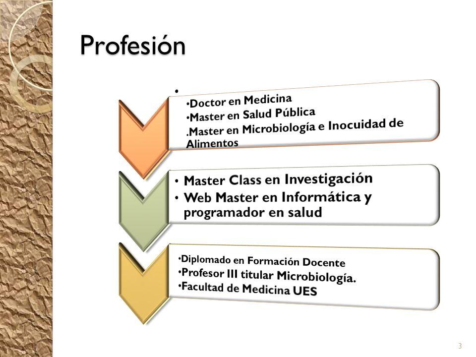Profesión Master Class en Investigación
