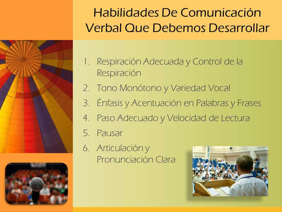 Habilidades De Comunicación Verbal Que Debemos Desarrollar