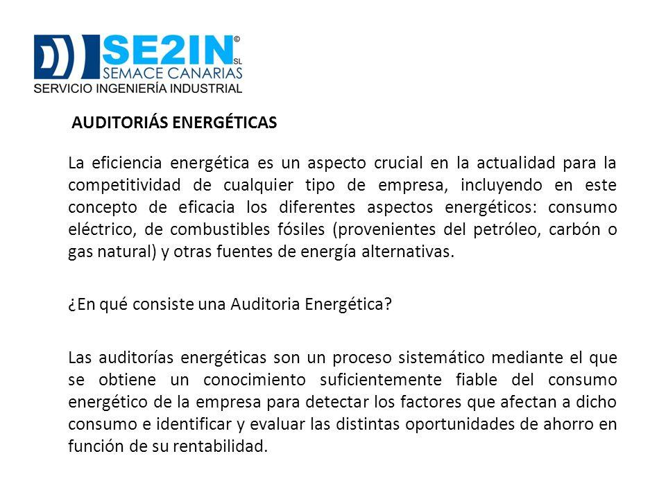 ¿En qué consiste una Auditoria Energética