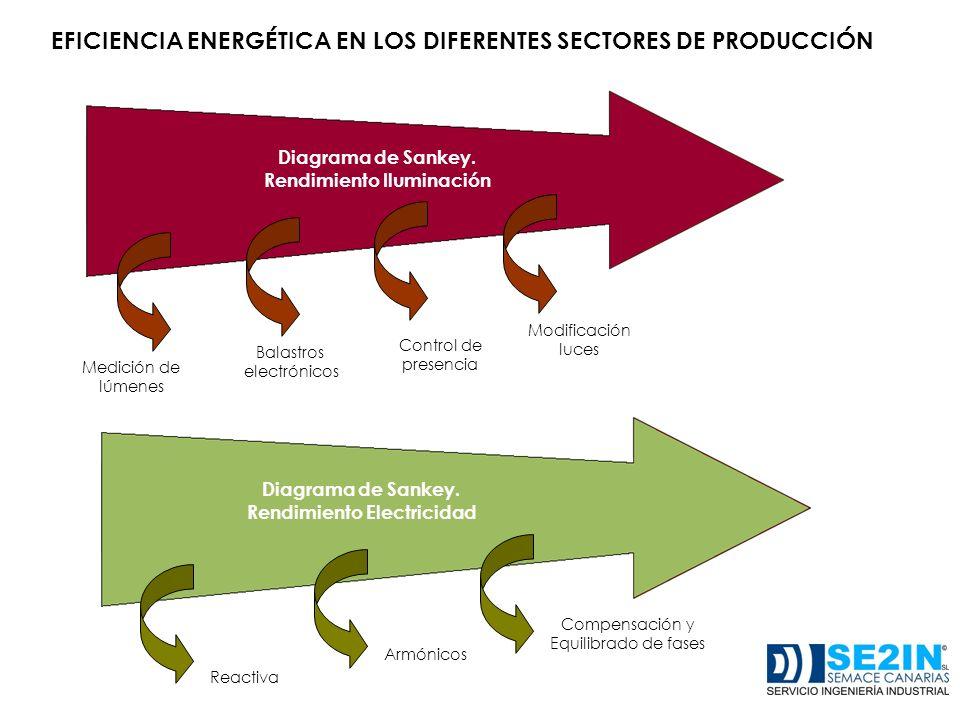 EFICIENCIA ENERGÉTICA EN LOS DIFERENTES SECTORES DE PRODUCCIÓN