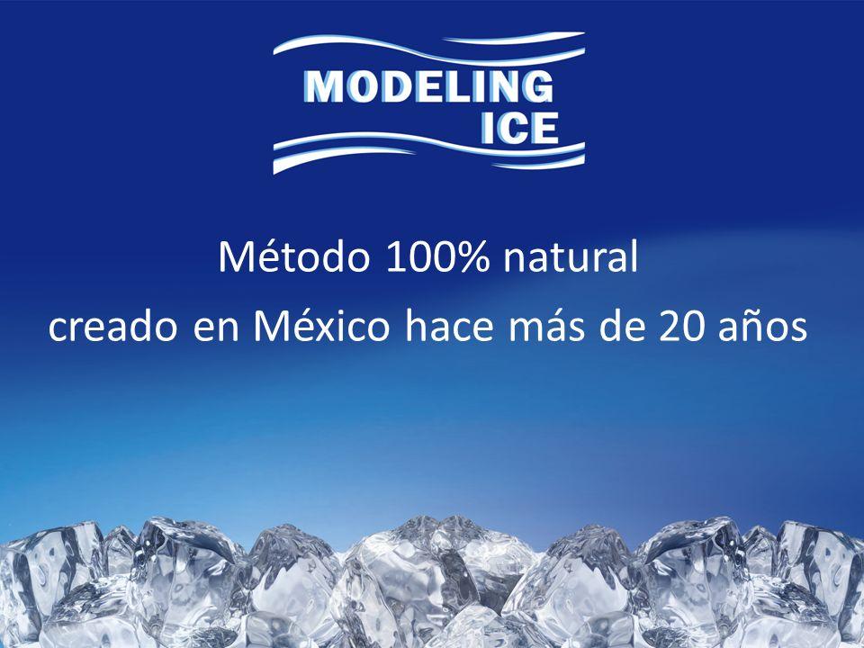 Método 100% natural creado en México hace más de 20 años