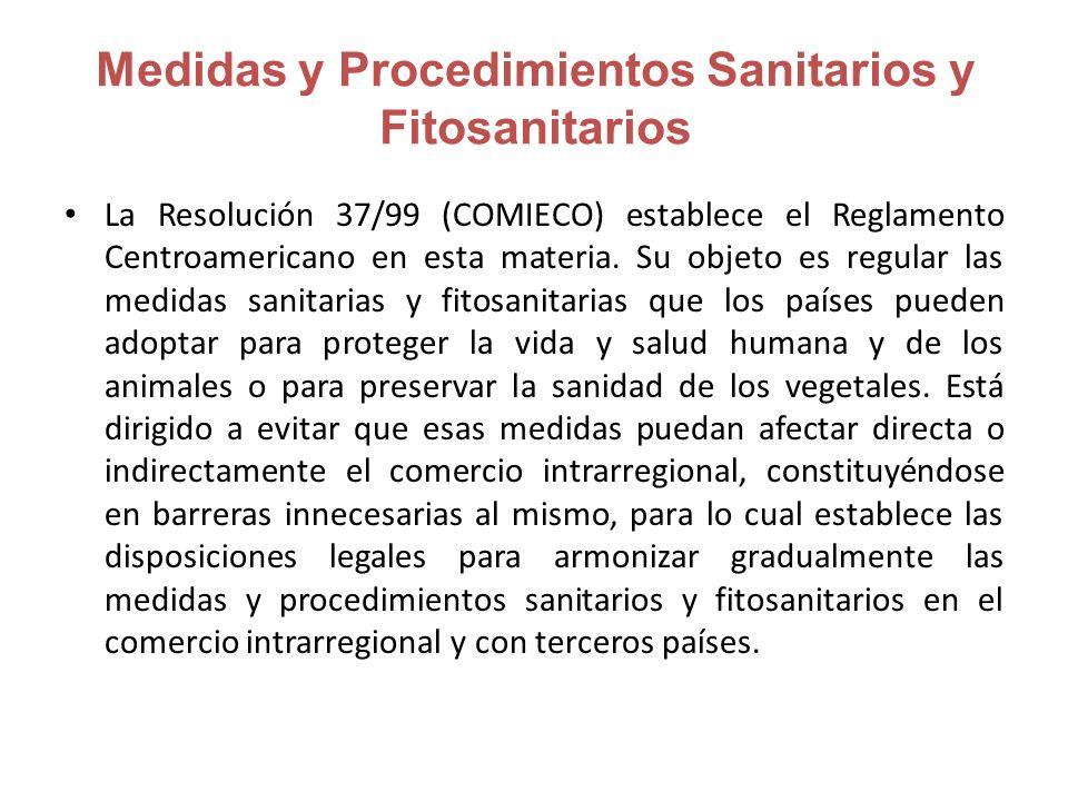 Medidas y Procedimientos Sanitarios y Fitosanitarios