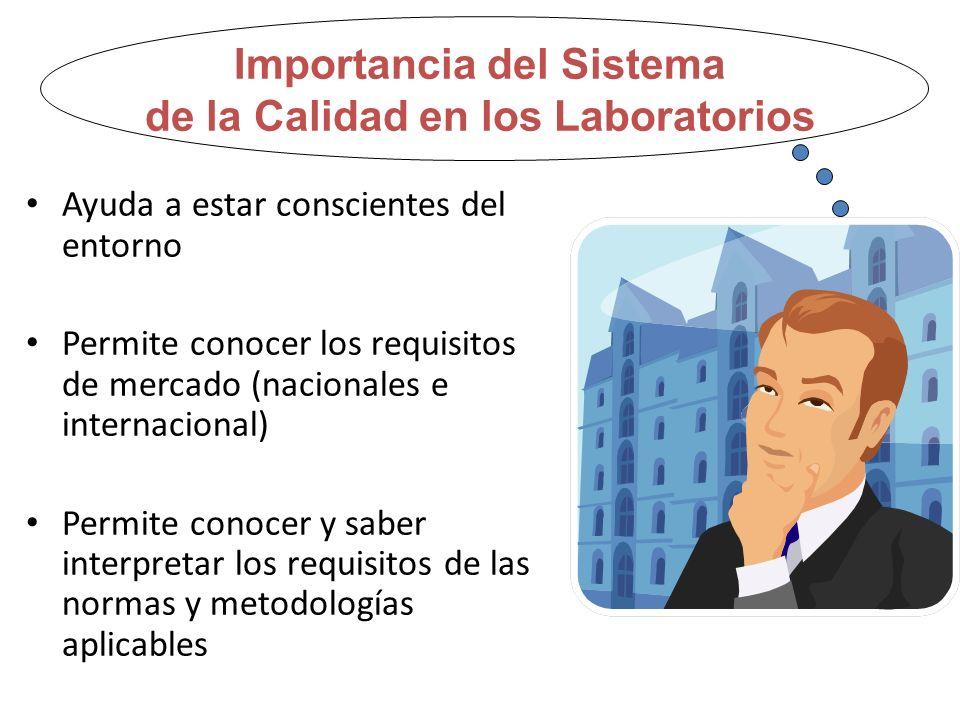 Importancia del Sistema de la Calidad en los Laboratorios