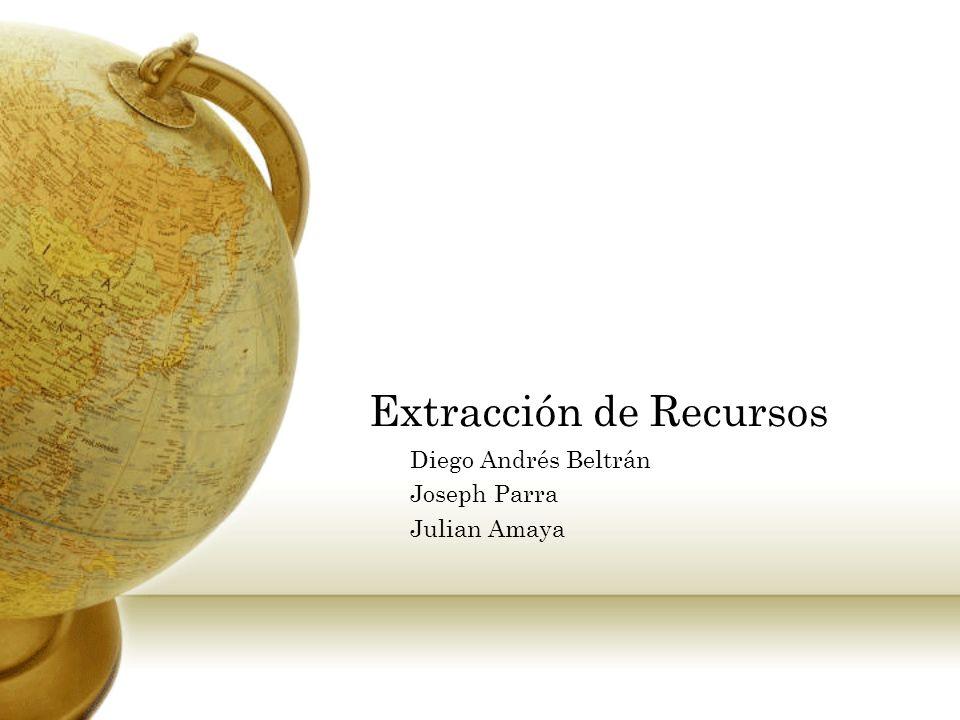 Extracción de Recursos