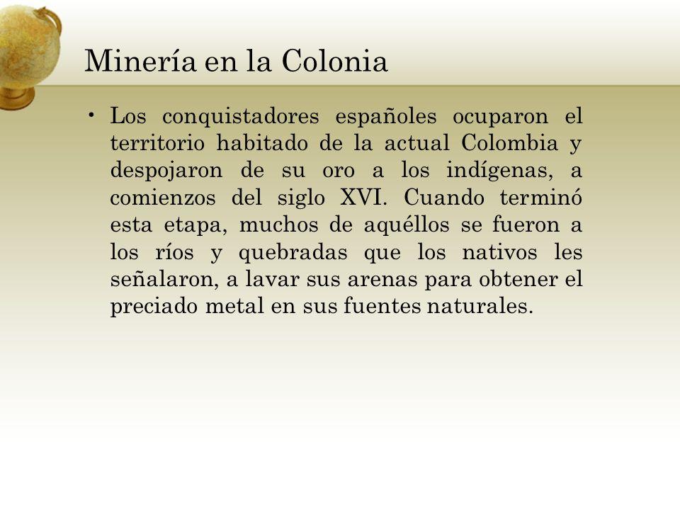 Minería en la Colonia