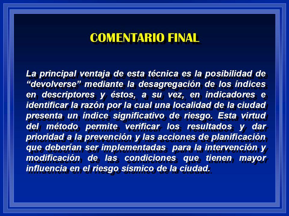 COMENTARIO FINAL