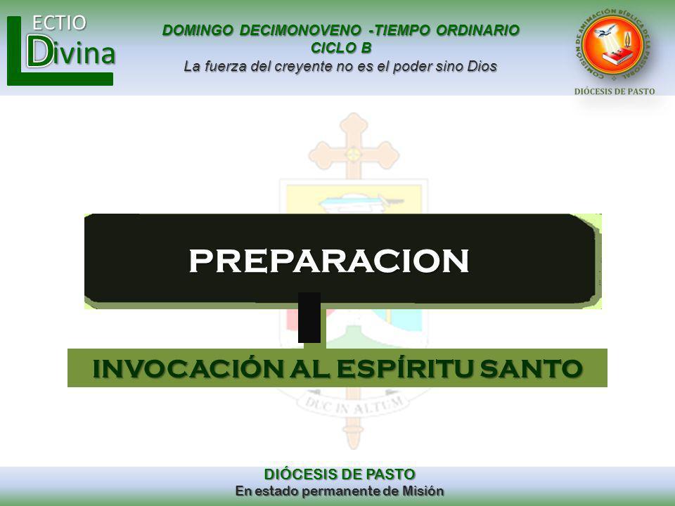 INVOCACIÓN AL ESPÍRITU SANTO