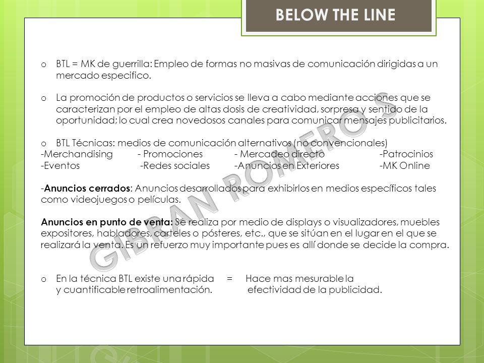 GIBRAN ROMERO S BELOW THE LINE